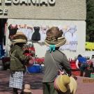 Chichen Itza - przed kasami już czekają handlowcy